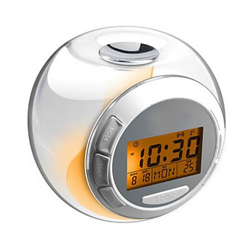 Светодиодный музыкальный будильник с календарем и термометром (3xAAA) Lightinthebox 626.000
