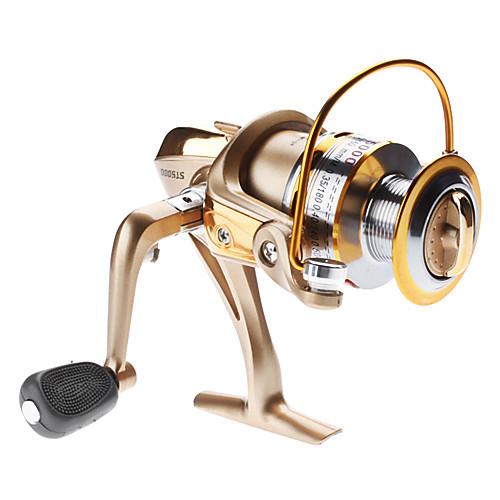 Катушка для рыбалки (алюминий), 6ВВ, 0.5/100 Lightinthebox 1288.000