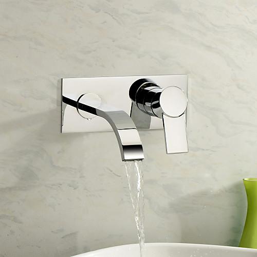 Современный смеситель-водопад для ванной (хромирование) Lightinthebox 3866.000
