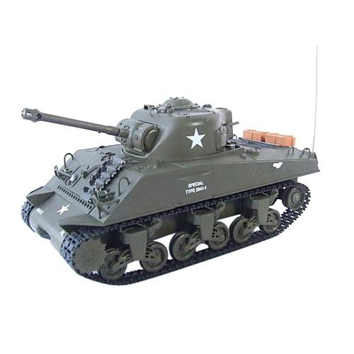 1:30 RC боевой танк танки M4A3 Sherman РТР дистанционного управления игрушки Lightinthebox 2148.000
