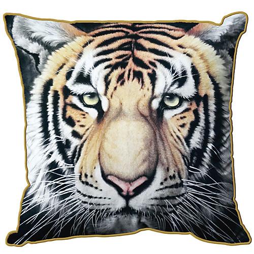 Бенгальский тигр рисунок принт Velet Декоративные Чехол Lightinthebox 644.000