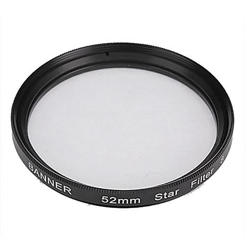 Баннер 8pt 52mm Фильтр звезды для Canon, Nikon, Sony и многое другое Lightinthebox 300.000