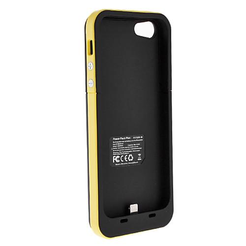 Чехол ультра-тонкий с встроенной внешней батареей и USB-кабелем для iPhone 5/5s (разные цвета, 2500mAh) Lightinthebox 633.000