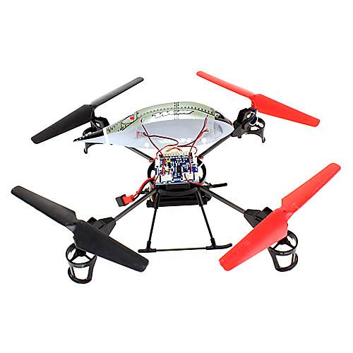 Wltoys 2.4GHz 4-канала камеры Съемка четыре оси НЛО детей электрический пульт дистанционного управления Aerocraft игрушки Lightinthebox 3437.000