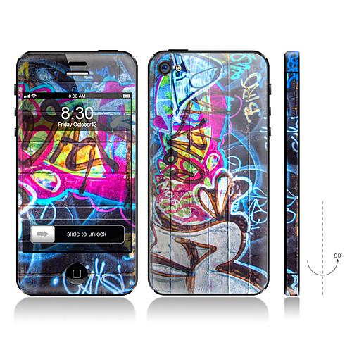 Scrawl отдел дизайна и Назад Защитная пленка для iPhone 4/4S Lightinthebox 171.000