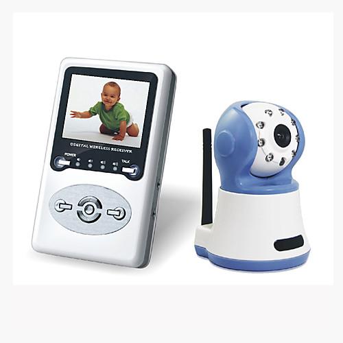 2.4G цифровой беспроводной монитор младенца (две полосные динамики функций) Lightinthebox 3551.000