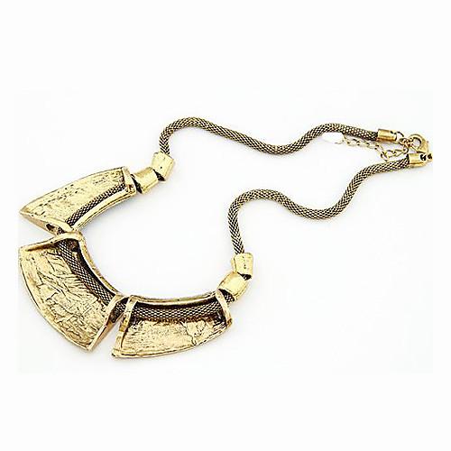 Роскошный серпентинитовый полигон ретро ожерелье Lightinthebox 343.000
