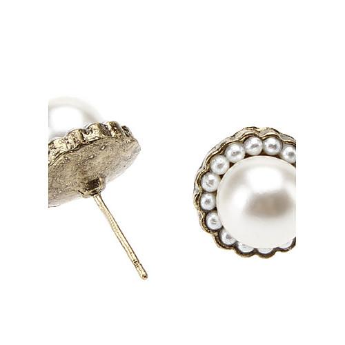 Элегантные серьги стержня перлы Lightinthebox 45.000