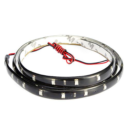 Светодиодные полосы света 90см, красный / белый / синий Lightinthebox 128.000
