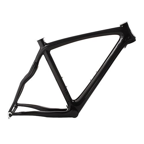 Стилизованная карбоновая рама для дорожного велосипеда с жесткой вилкой и подседельным штырем Lightinthebox 21485.000