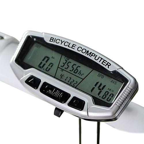 28-функциональный водонепроницаемый велосипедный компьютер  SD-558A (серебристый) Lightinthebox 515.000