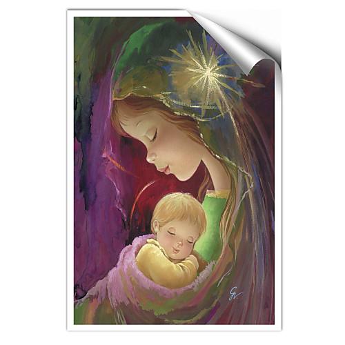 натянутым холстом художественные мультяшный матери и ребенка Вики giachini готовы повесить Lightinthebox 1288.000