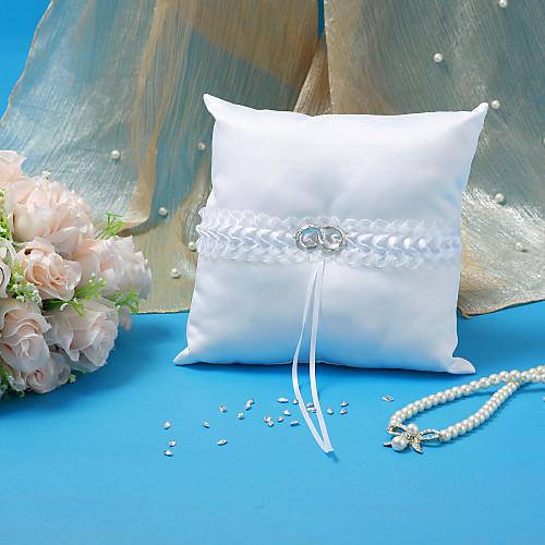 Свадебная коллекция набор из белого атласа с акцентом свадебного кольца (5 штук) Lightinthebox 1804.000