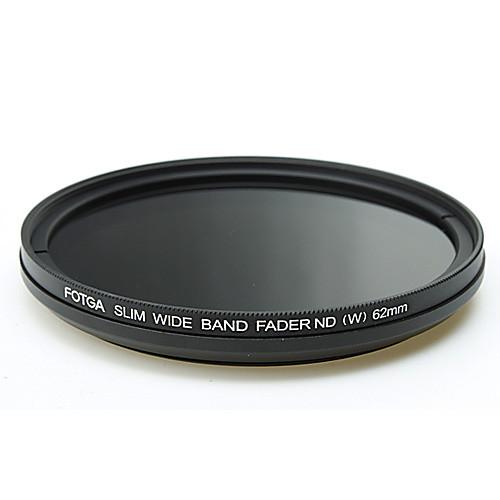 FOTGA 62мм стройная Fader нейтральный ND фильтр переменной плотности Регулируемая ND2 к ND400 Lightinthebox 901.000
