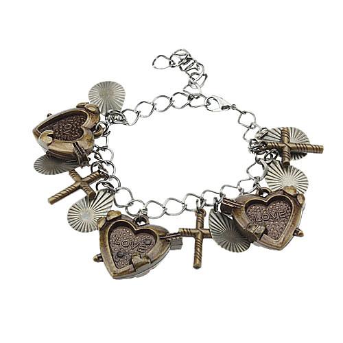 Сердце с креста Vintage браслет Lightinthebox 85.000