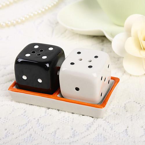Dice дизайн керамические соль и перец шейкеры Lightinthebox 139.000