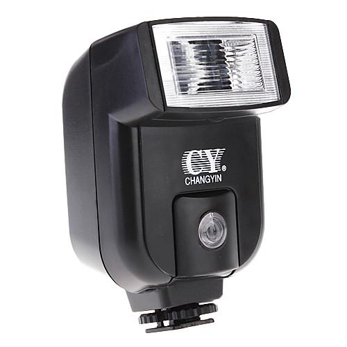 YINYAN CY-20 Small Mini горячая вспышка обуви с PC Sync порт для Canon Nikon DSLR DC Lightinthebox 472.000