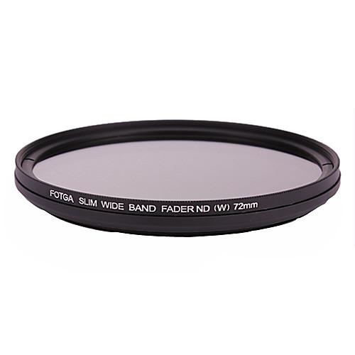 FOTGA 72мм стройная Fader нейтральный ND фильтр переменной плотности Регулируемая ND2 к ND400 Lightinthebox 1030.000