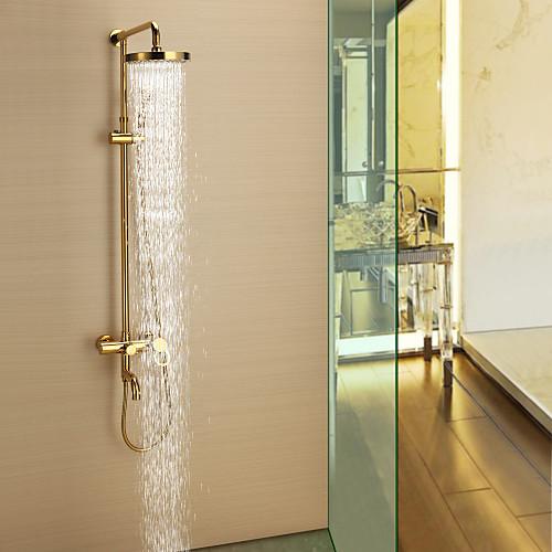 ти-PVD стену дождя  портативный смеситель для душа Lightinthebox 9453.000