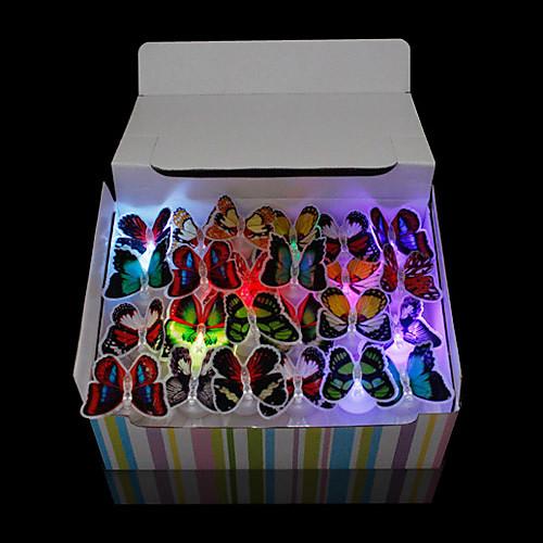 Красочные LED бабочки (разные цвета) Lightinthebox 128.000