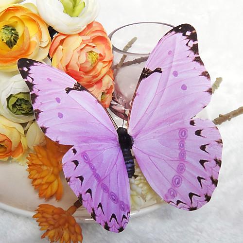 Красивые Сирень пластичный бабочки (набор из 6) Lightinthebox 422.000