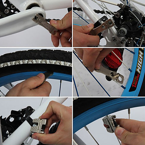 Sahoo велосипед инструмент серии CR-V Портативный 17-в-1 Велосипед складной инструмент Ремонт B10015 Lightinthebox 1073.000