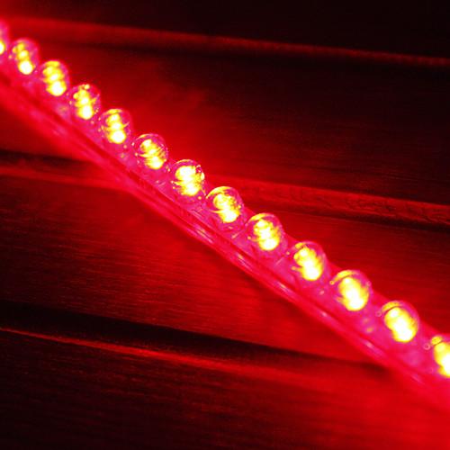 Автомобильные светодиодные 48см прозрачная гибкая светлая, красный / белый / синий Lightinthebox 214.000