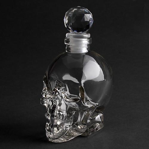 хрустальный череп головы 125мл водки бокал бутылка графин Lightinthebox 343.000