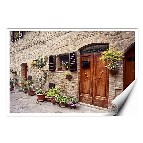 натянутым холстом искусства пейзаж цветы на стене, Тоскана, Италия Монте Наглером готовы повесить Lightinthebox 858.000