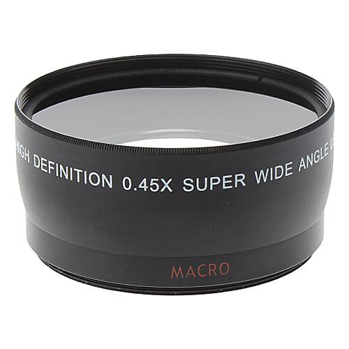 Универсальный 0.45x 58mm ультра широкоугольный объектив Дополнительное Lightinthebox 858.000