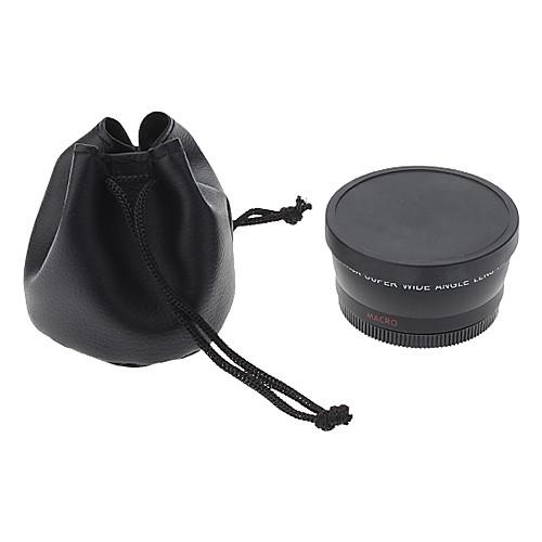 Универсальный 55mm 0.45x ультра широкоформатным объективом Дополнительное Lightinthebox 816.000