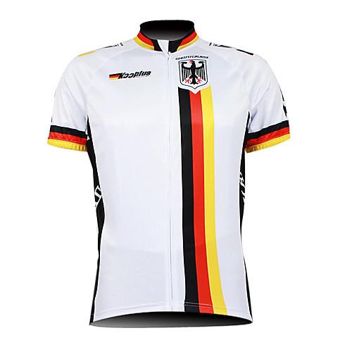 Kooplus 2013 Германия Pattern 100% полиэстер с коротким рукавом дышащий Мужчины Велоспорт Джерси Lightinthebox 1288.000