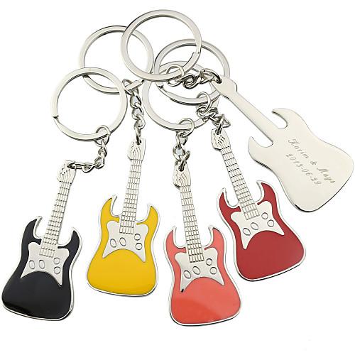 Персонализированные Брелок Гитара - Набор из 6 (другие цвета) Lightinthebox 399.000