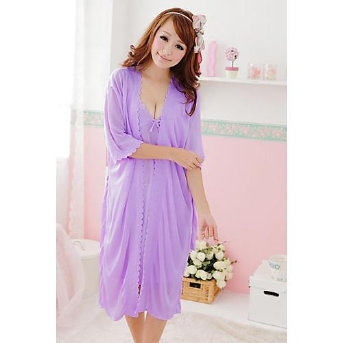 Женская мода милый лук Шелковый Lounge Носите указан Lightinthebox 558.000