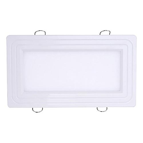 12W светодиодные с Прямоугольник Shade (Lumen 1080lm/Hole Размер 185  95 мм) Lightinthebox 2019.000