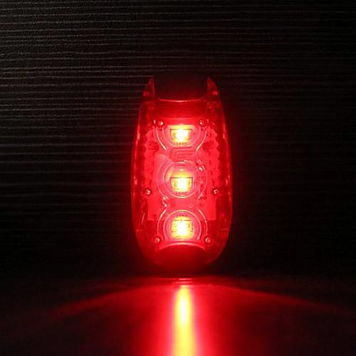 CYCLIFE 3 Ultra Bright светодиоды не-Put Водонепроницаемый Клип предупредительный световой сигнал безопасности для запуска / Езда на велосипеде Lightinthebox 257.000