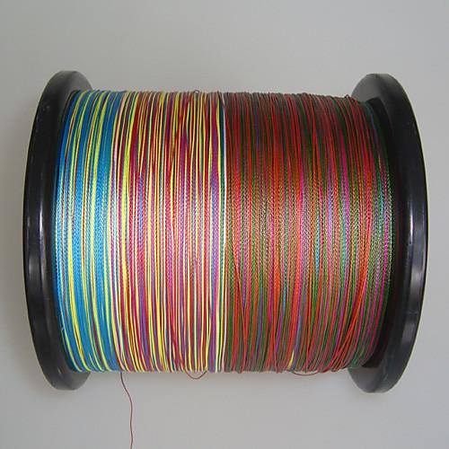 2000 м 4 перевозчиков PE Плетеные лески (Радуга) Lightinthebox 3652.000