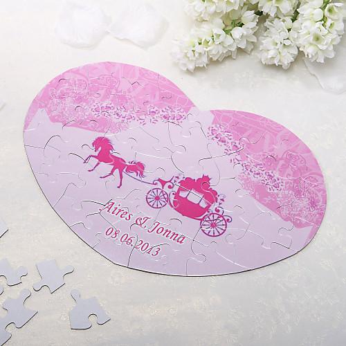 Heart Shaped Персонализированные головоломки - Розовый Перевозки Lightinthebox 162.000