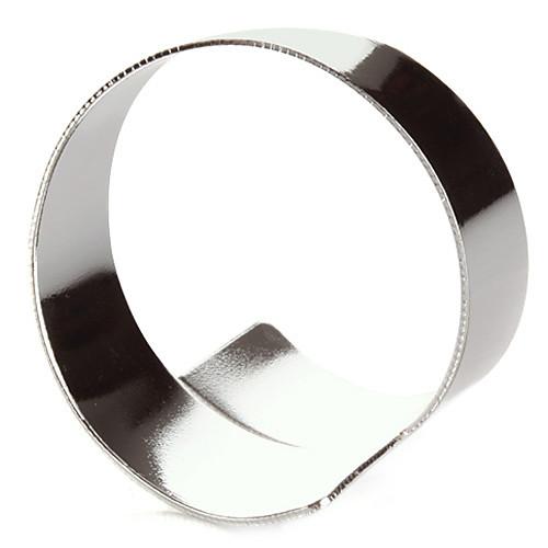 Набор из 4 Современное кольцо Серебряное Салфетка Цинк сплав Lightinthebox 407.000