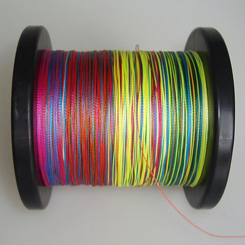 4 500 перевозчиков PE Плетеные лески (радуга) Lightinthebox 1159.000