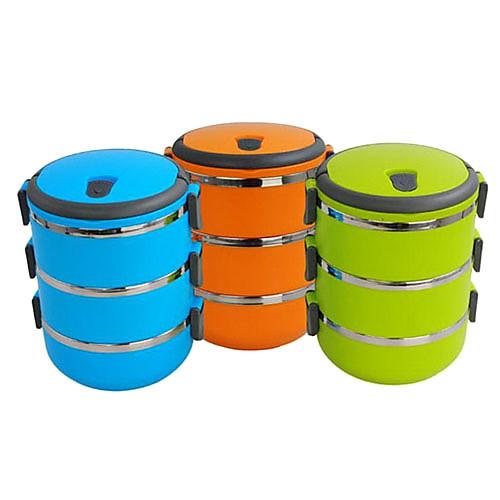 Портативный 3-х уровневая изоляция Bento Lunch Box (разных цветов) Lightinthebox 794.000