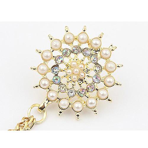 Женская мода Перл Брошь Снежинка Lightinthebox 214.000