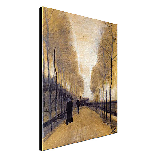 Известный Аллея Картина маслом граничит с деревьями Ван Гога Lightinthebox 3136.000
