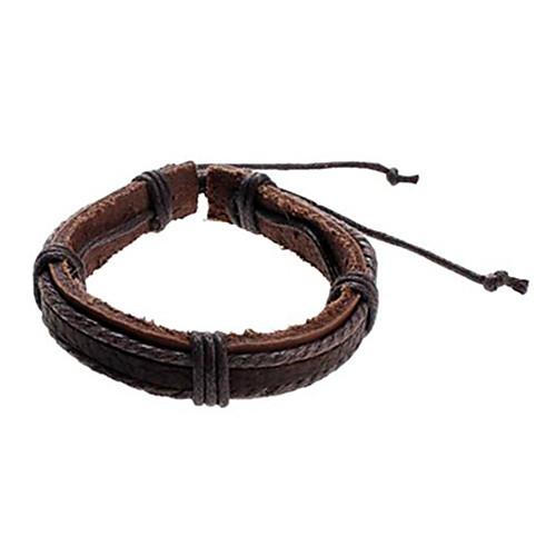 Связывание Корова кожаный шнур браслет Lightinthebox 45.000