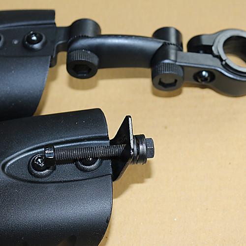 Прочный Новый Разработанный синтетического волокна Пластиковые велосипедов Fender (2 шт, черный) Lightinthebox 429.000