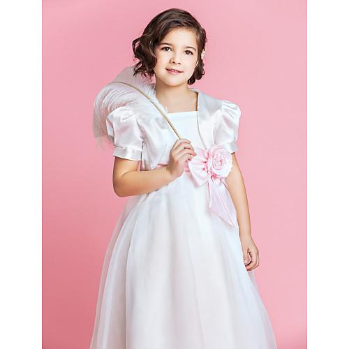 Великолепная девушка цветок атласные особых поводов куртка / Wrap (другие цвета) Lightinthebox 554.000