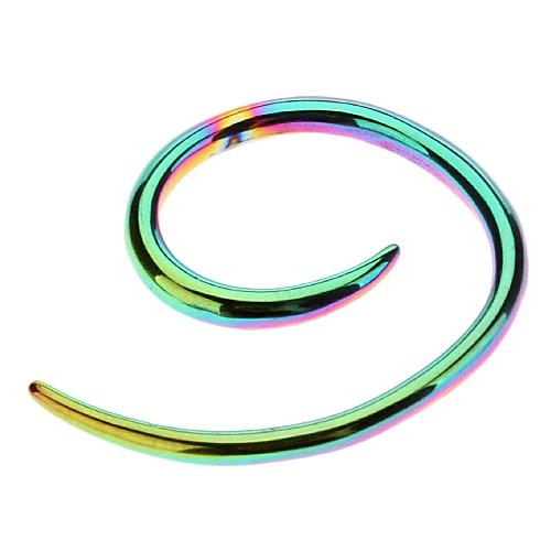 2 мм нержавеющей стали спиральные уха расширения  1 Lightinthebox 128.000