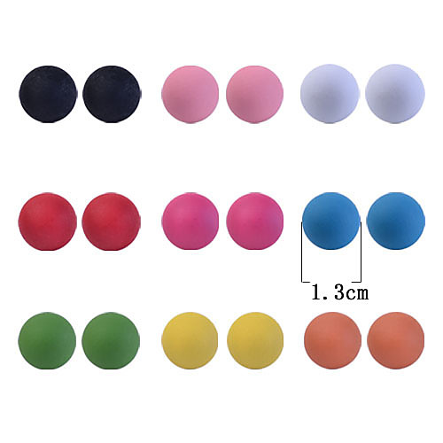 Мило конфеты цвет бисера серьга (9 пар) Lightinthebox 128.000