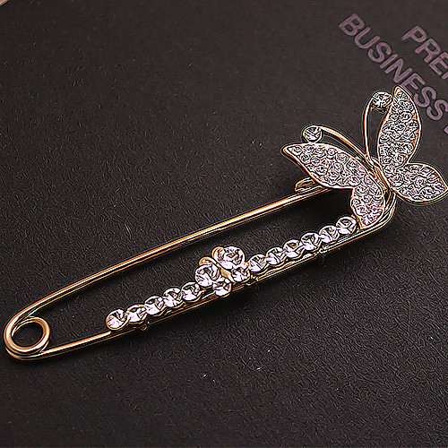 Полный Бабочка Циркон женские броши Lightinthebox 214.000