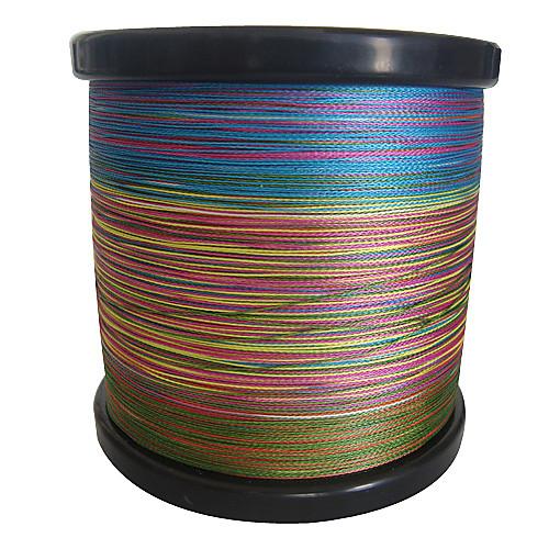 1000 4 перевозчиков PE Плетеные лески (Радуга) Lightinthebox 1976.000